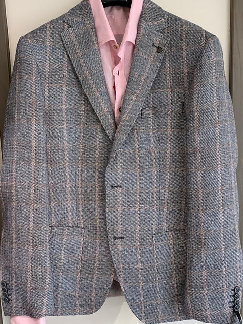 Roy 2524-H050 Robson grey check jacket