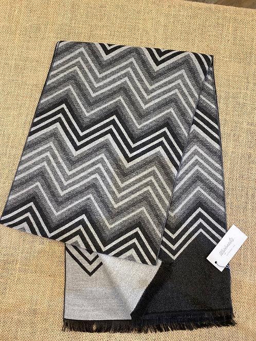 Micro pmrs300 black grey scarf