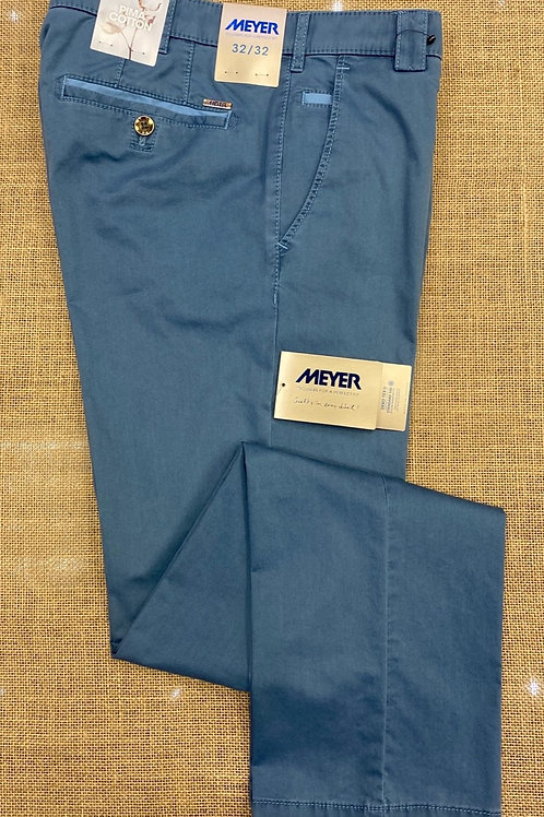 Meyer Roma  blue chino