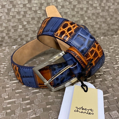 ROBERT CHARLES  blue/brown Belt