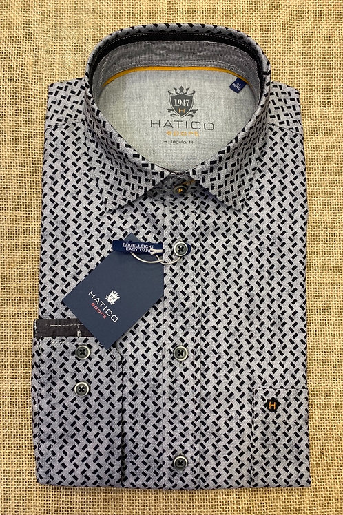 HATICO Sport Long sleeve black/grey Shirt