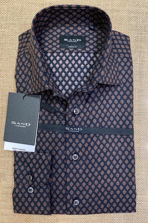 Sand black/brown shirt