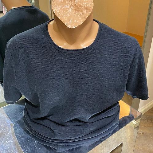 Thomas 10820-60 Maine short sleeves knitwear in black