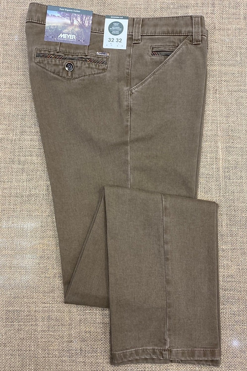 Meyer  Chicago dark beige chino
