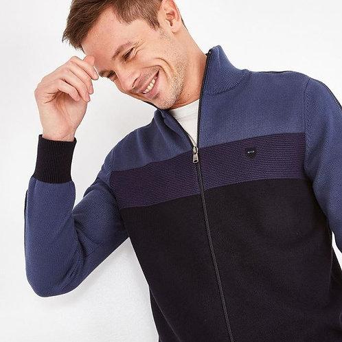 Eden Park Long sleeve blue knitwear