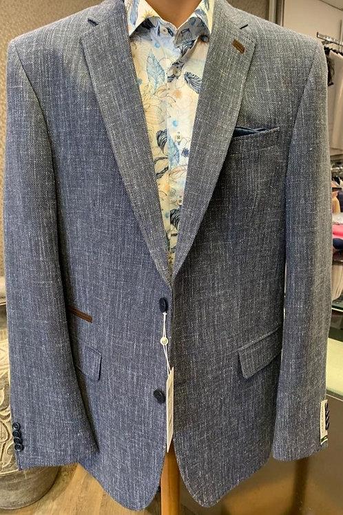 Carl Gross Blue jacket