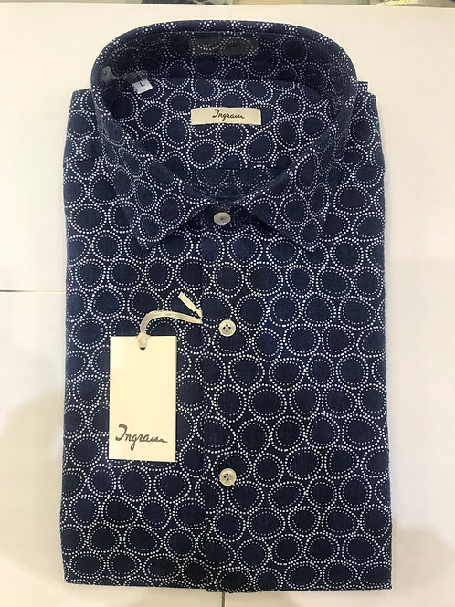 Ingram dark blue shirt
