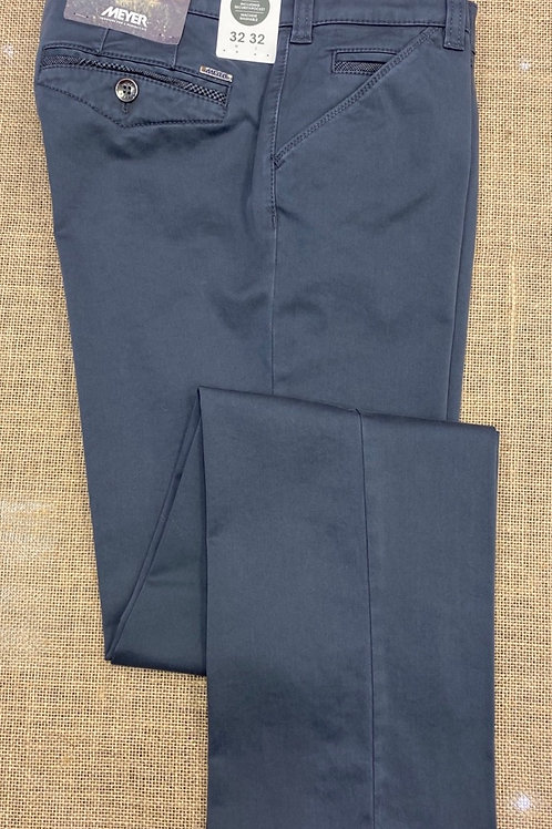 Meyer  Chicago mid blue chino