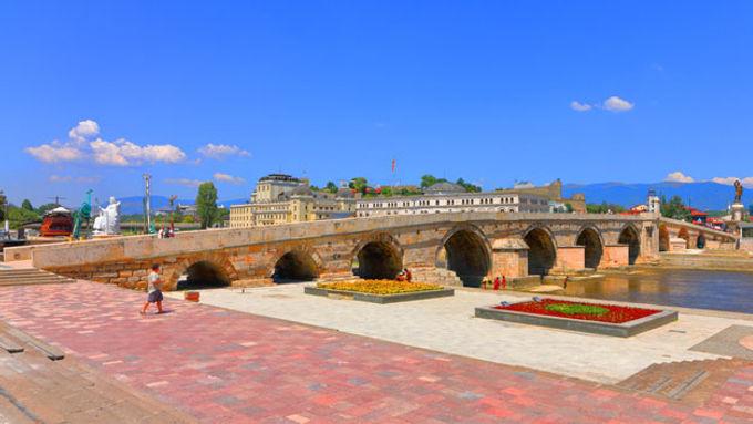 Skopje, the capital of Republic of Macedonia