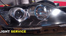 Замена линз Mazda CX-7