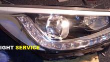 Восстановление автомобильной оптики Hyundai Solaris