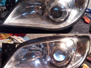 Ремонт фар Subaru Impreza