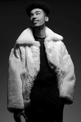 Hybrid Tha God wearing Tatlim for his promo release