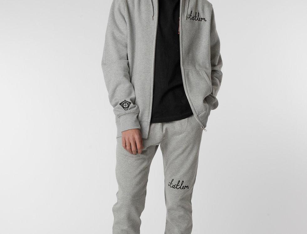 Grey & Black Tatlim Sweatpants