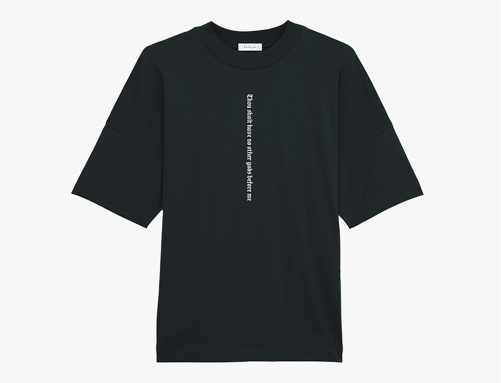 Black Oversized 10 C's T Shirt