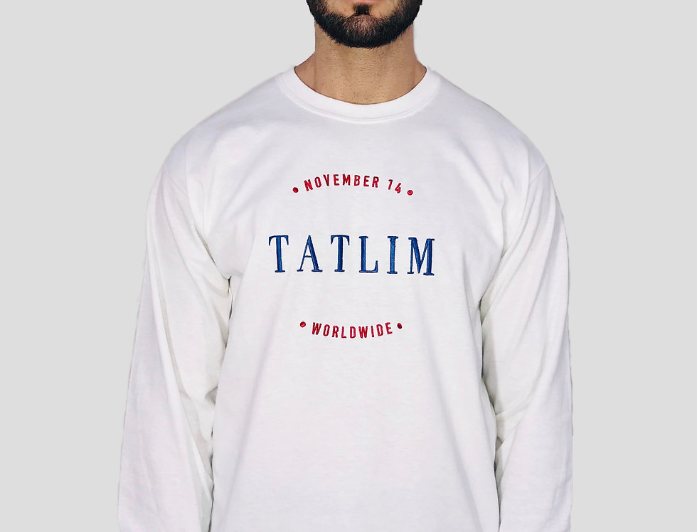 Special Edition White Birthday Longsleeve