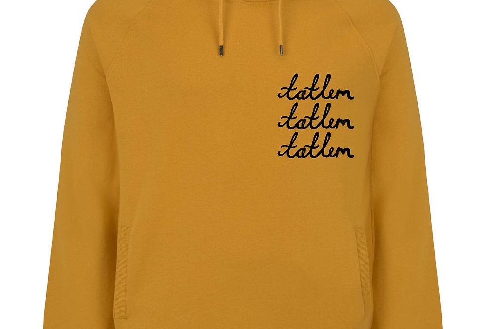 Mustard Triple Tatlim Hooded Sweatshirt