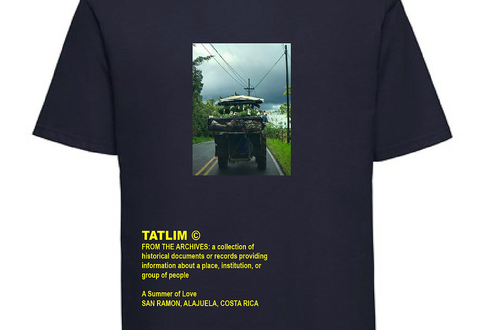 Navy From The Archives Costa Rica T Shirt