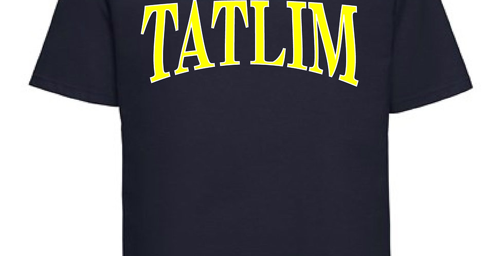 Navy College T Shirt