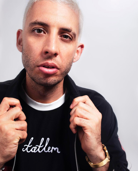 Example wearing Tatlim for his own promo