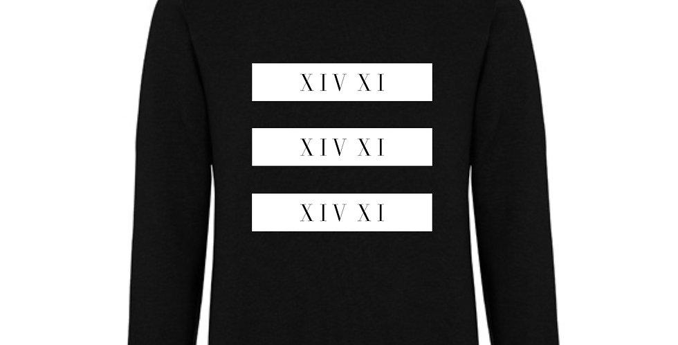 White Block Sweatshirt