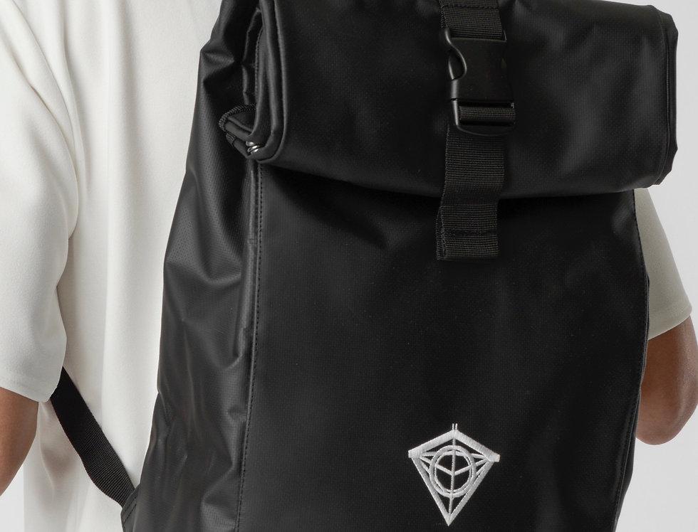 Waterproof Diamond Roll Top Rucksack