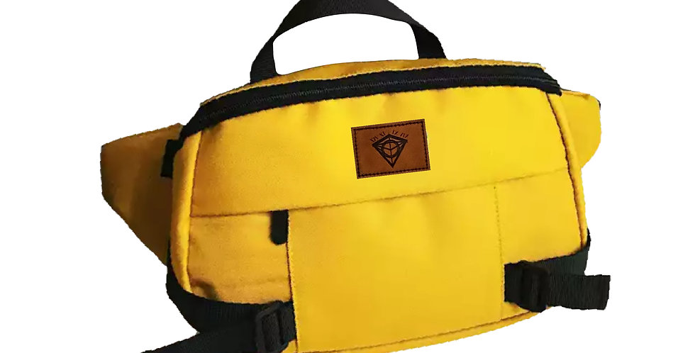 Yellow Oversized Crossbody Bag