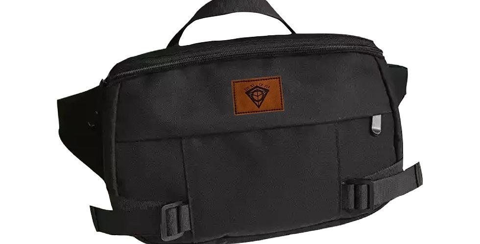 Black Oversized Crossbody Bag