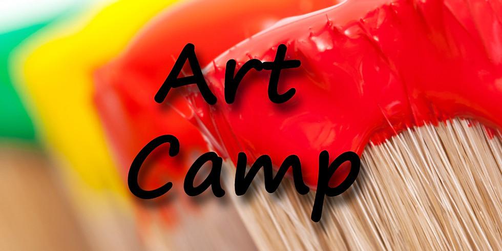 Summer Art Camp (ages 11+)