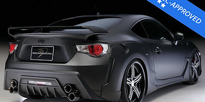 GT86/BRZ Wald Black Bison Full bodykit FRP (ECE-DTC included)