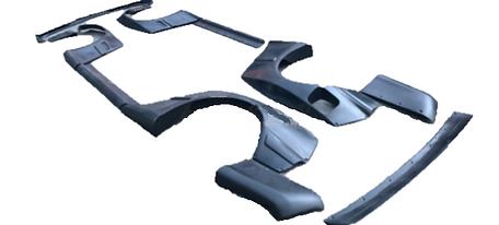 E36 Rocket Bunny full bodykit FRP (12 parts)