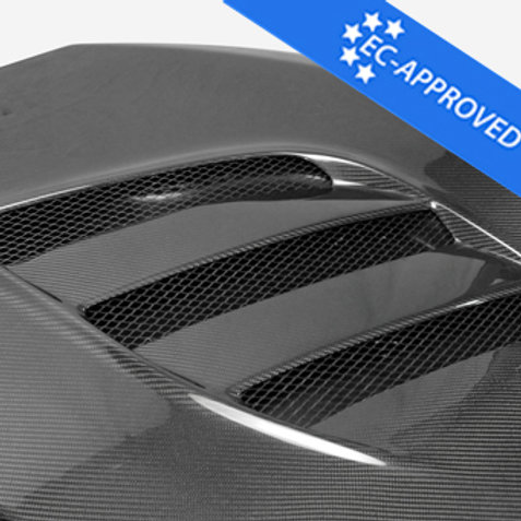 GT86/BRZ VRS style Arising II Carbon Hood Bonnet (DTC-ECE included)