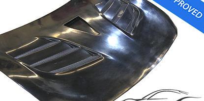 GT86/BRZ VRS style Arising II FRP Hood Bonnet (DTC-ECE included)