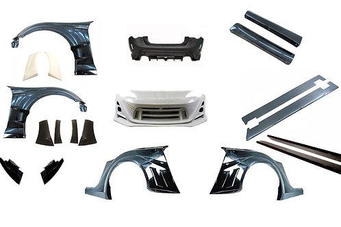 GT86/BRZ VRS style Arising Wide Full bodykit (without bonnet & spoiler)