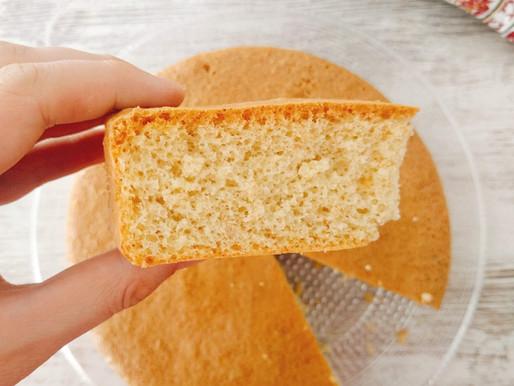 Bizcocho clásico de espelta (sin azúcar)
