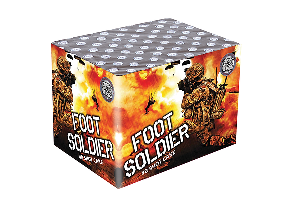 Foot Soldier - Large Cake