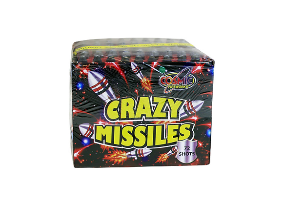 Crazy Missiles - Small Cake