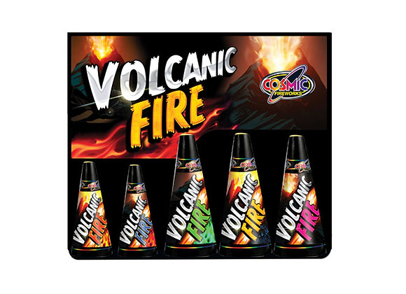 Volcanic Fire - Fountains