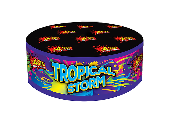 Tropical Storm - Large Cake