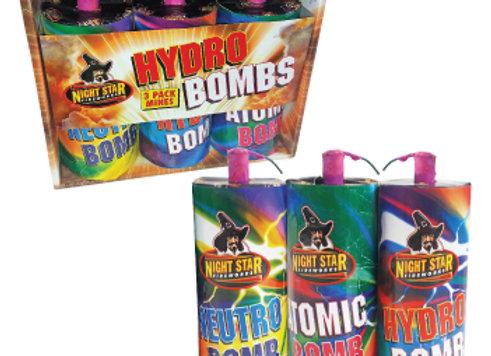 Hydro Bombs x 3 - Mines