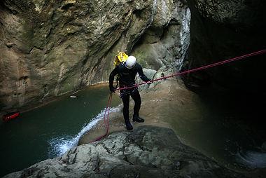 Canyoning nel Lazio