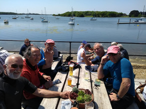Chichester Harbour Cruise, May 2018