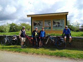 Cycle excursion to the Isle of Wight
