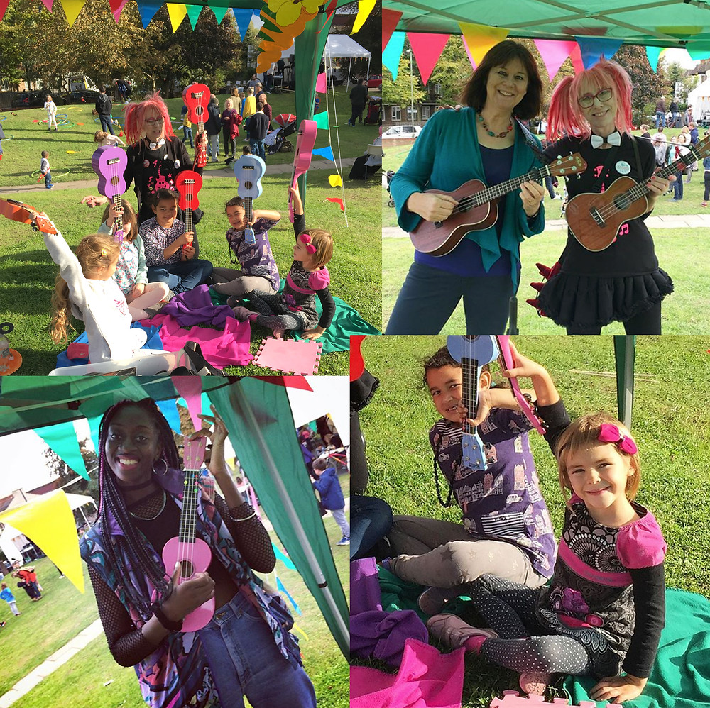 Grange Big Local 2017 Fun Palace – A delightful late summer open air mini festival with live music, art, food and much more