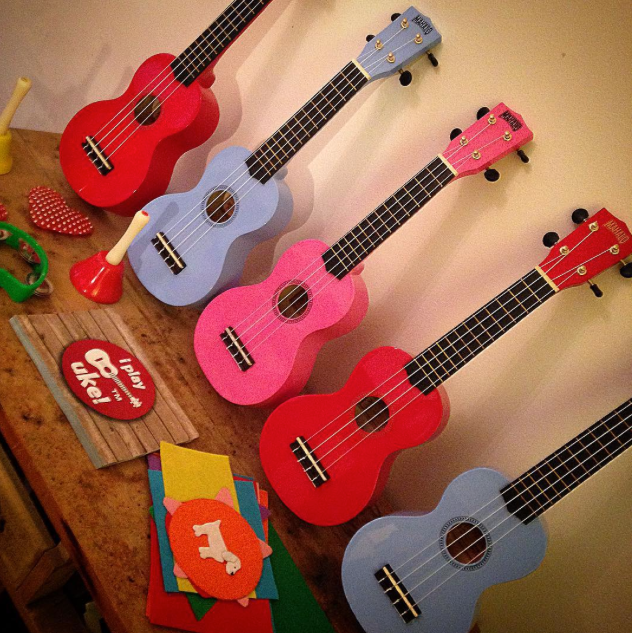 Ukulele & Crafts – 1 Child & 1 Parent