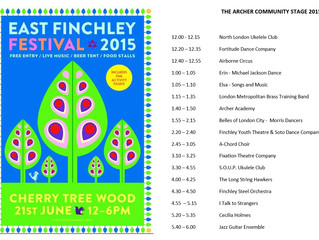 East Finchley Summer Festival 2015