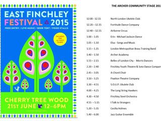 East Finchley Summer Festival 2015