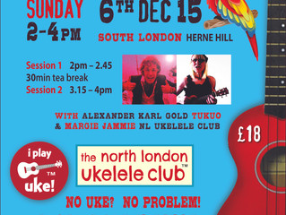 Workshop Dec 6th Herne Hill