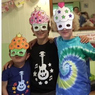 Ukulele & Crafts – 2 Children & 1 Parent