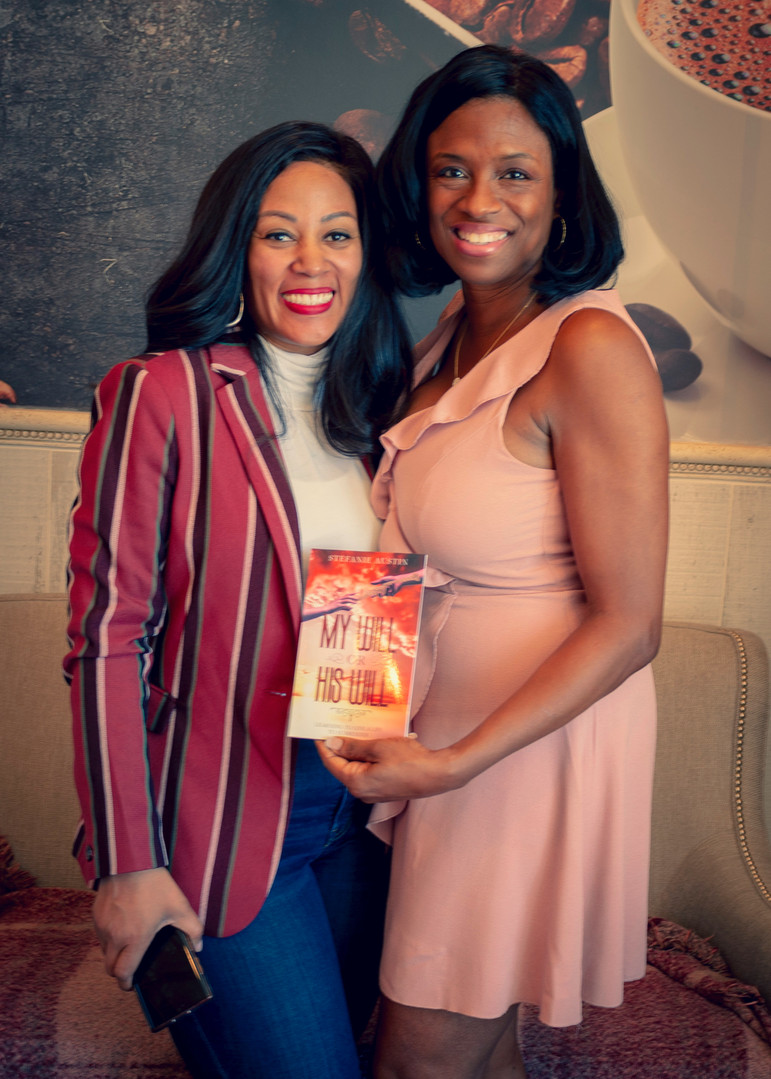 Adrianne Ricks w/ Author Stefanie Austin